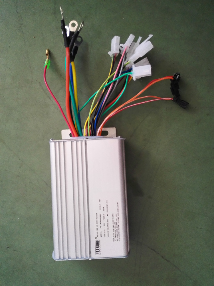 24v 350w 17A electric vehicle dc brushless motor controllers