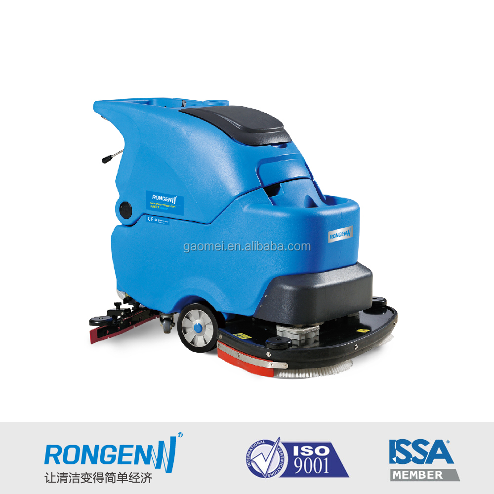 R85BT Walk behind Floor Scrubber 850mm cleaning path