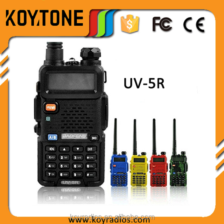 Portable Bao Feng Dual-Band Amateur High Quality Digital 2 Way Radio UV-5R