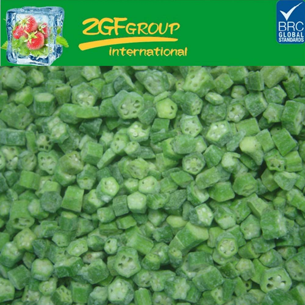 frozen fresh freeze dried okra