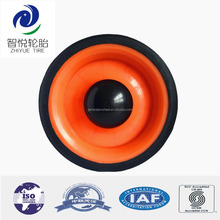 Chinese suppliers rubber wheel 4 inch go cart wheels