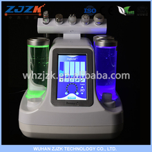 Safety 4 in 1 facial machine vacuum suction device ultrasound anti aging treatment reduce acne