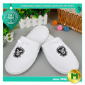 Cheap Wholesale Custom Disposable Indoor Bathroom Spa Slipper velour Hotel Slipper