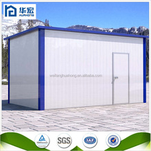 Self supporting wall fast assembling low cost container prefabricated modular house