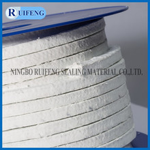 Fiber glass gland packing with PTFE
