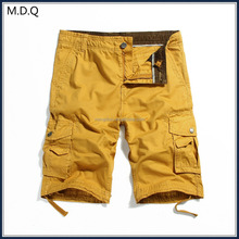 2017 mens short pants 3/4 pants cargo pants with six pockets