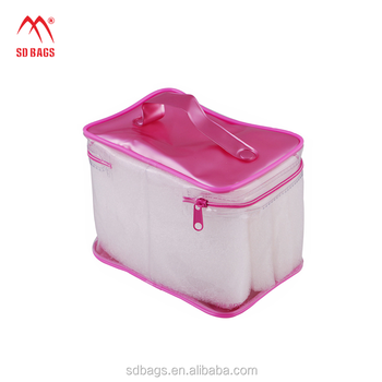 New style customized clothes plastic zip lock PVC packaging bag