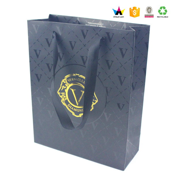 Customized Paper Bag Foldable Shopping Paper Gift Bag
