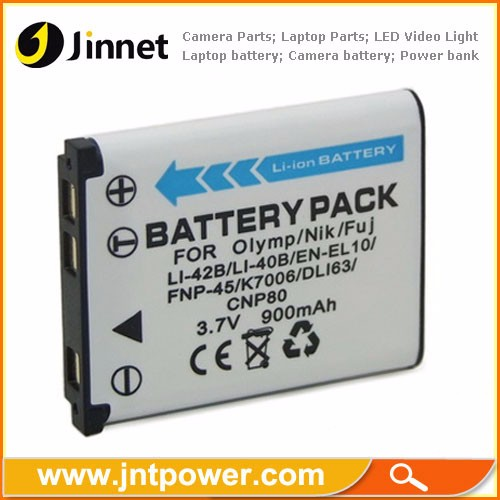 Camera Battery For LI-40B LI-42B NP-45 EN-EL10 D-LI63 CNP80 KLIC-7006 D-LI108