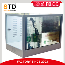 Touch screen 22 inch transparent video display
