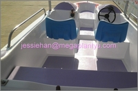 Ce approved sea water 4-5 person electric boat for sale