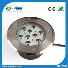High power 9w led ground level driveway lights