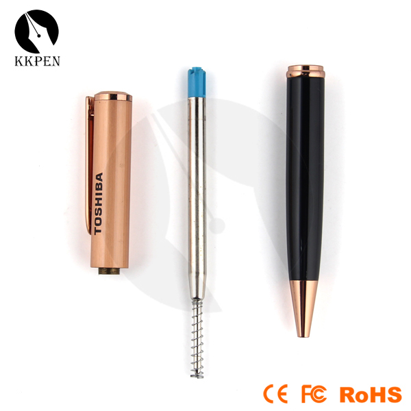 Jiangxin brand new customised pen with laser and led light