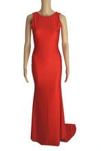 2014 New Arrival High Neck Coral Long Dress The Best Maxi Evening Prom Dress Coral Free Shipping Sexy Backless Party Dress