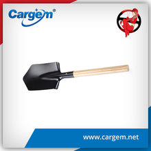 CARGEM Wooden handle steel shovel,strong power shovel,garden shovel