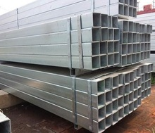 Square Rectangular Structure Use Carbon Welded Black Annealing Seamless Steel Tube/GI Pipe