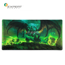 Excellent qlty OEM anti-slip eco-friendly natural rubber + fabric esports game mouse pad with logo/pattern printed (monster)