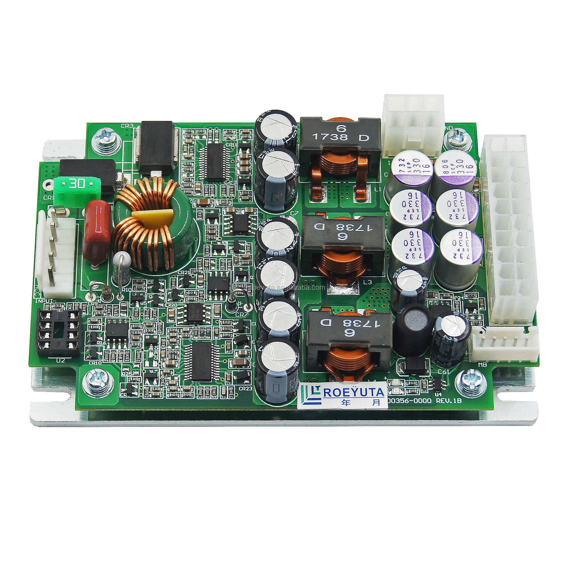 Dc to dc 12-24 v input atx power supply 300w for vehicular computer or other