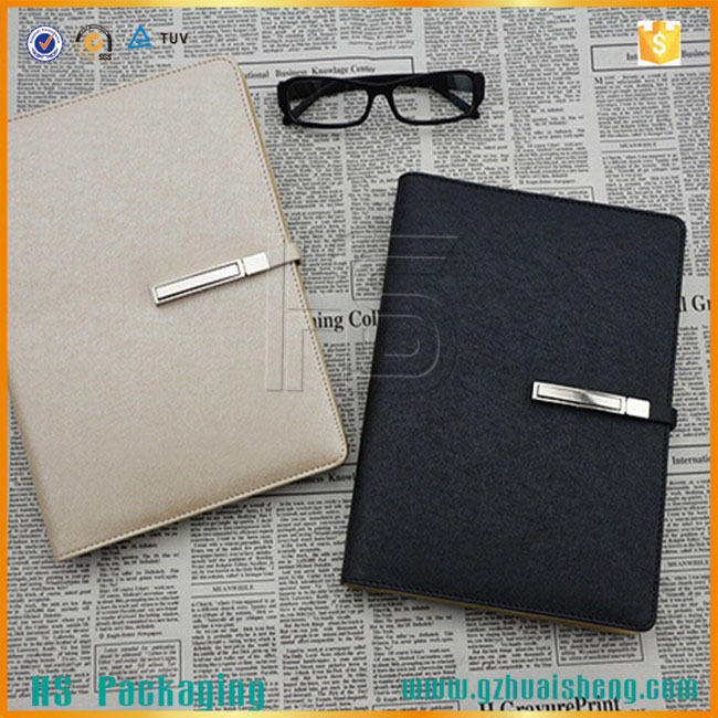 newly design business pu leather planner organizer/personalized daily planner