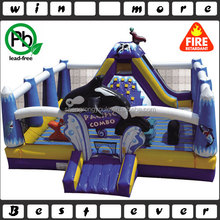 Pacific combo inflatable children playground, Ocean world inflatable fun city