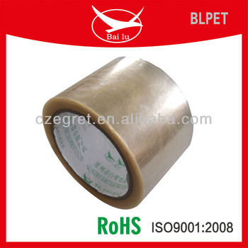 high bond Polyester Tape insulation protecting tape (pet) no residue
