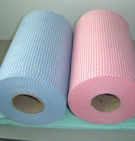 Fabric manufacturer bamboo fiber spunlace nonwoven fabric for wet wipes fabric material