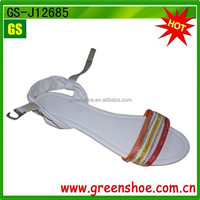 fashion flat summer sandals 2014 for women