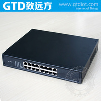 10/100M POE Switch With 16 Port, 24V/48V