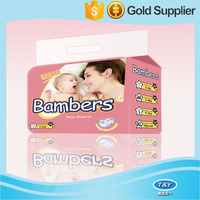 name brand pink color disposable cloth-like film baby diapers wholesale kenya