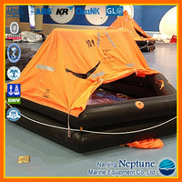 10 person inflatable life raft