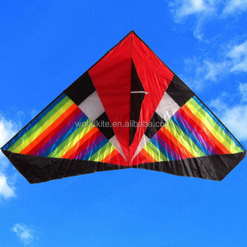 colorful delta wing foldable kite