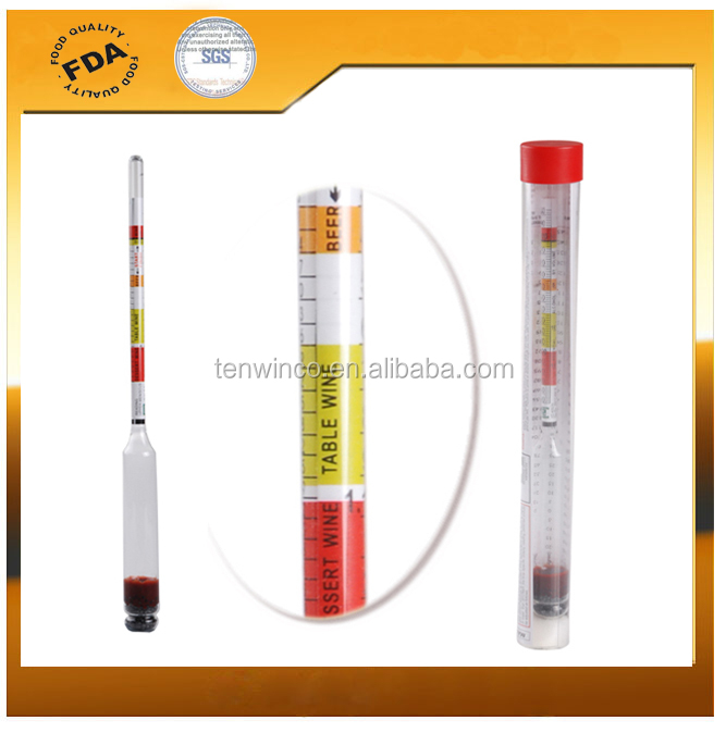 3 Scale Hydrometer for Home brew Beer homebrewing <strong>wine</strong> Cider