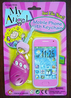 electronic mobile phone with remote key chain