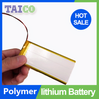 High Capacity rechargeable li-ion battery 3.7v 3800mah with Light Weight