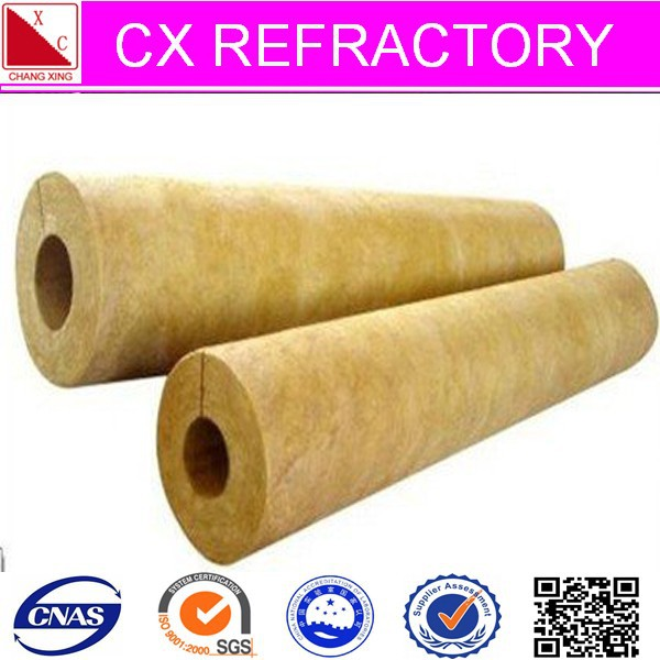 High density mineral wool pipe insulation buy high for Mineral wool density
