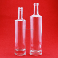 Excellent quality new type medoff vodka bottle customized vodka bottle glass beverage bottle with good price