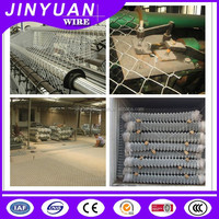 2016 hot sale cyclone wire mesh chain link mesh fence packed in roll and pieces
