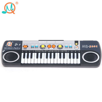 Factory wholesale 32 keys kids electronic piano keyboard with microphone