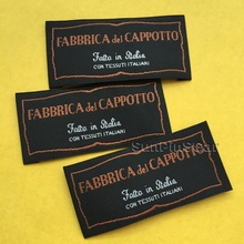 wholesale and custom washable woven labels for garment