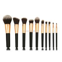 private label face paint brush cosmetic brush set bronzer ferrule brush