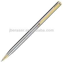 shining steel metal pen,office metal ballpoint pen wholesale