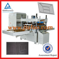 automatic plastic pvc cards embossing machine