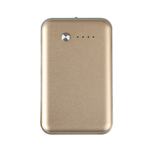portable Ultra Slim External Battery Pack Charger leather Power bank 6000mah