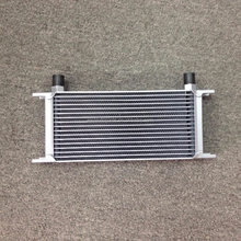 Universal trust automatic transmission oil cooler for 13 rows with oil sandwich angle AN10 hose fitting cooler kits