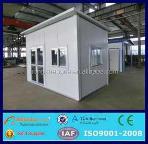 steel structure modular log cabin/mobile office/flatpack house made in china