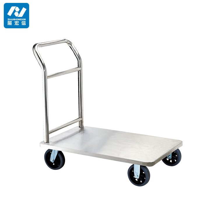 stainless steel flatbed handcart