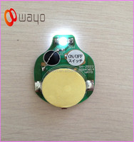 Single White color flash led/5mm color changing led