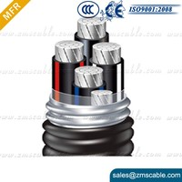 0.6/1KV low voltage XLPE Insulated PVC Sheathed 3x10mm2 electric cable