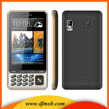 Cheap Chinese Durable Mobile Phone 3 .5 Inch Touch Screen Dual SIM Blu Back Camera Used Mobilephones Q200