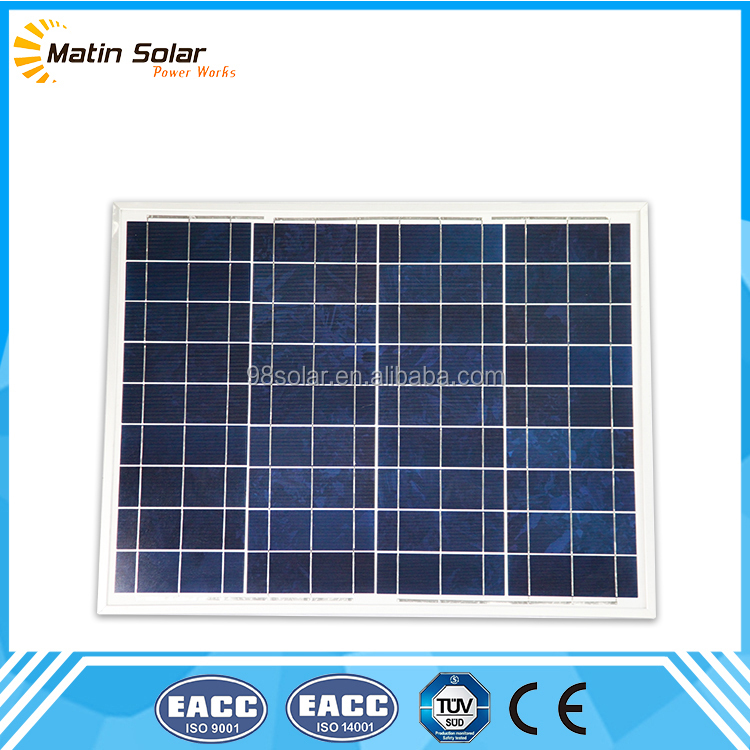 cheap 50W price per watt solar panels best price support 1000 watt system